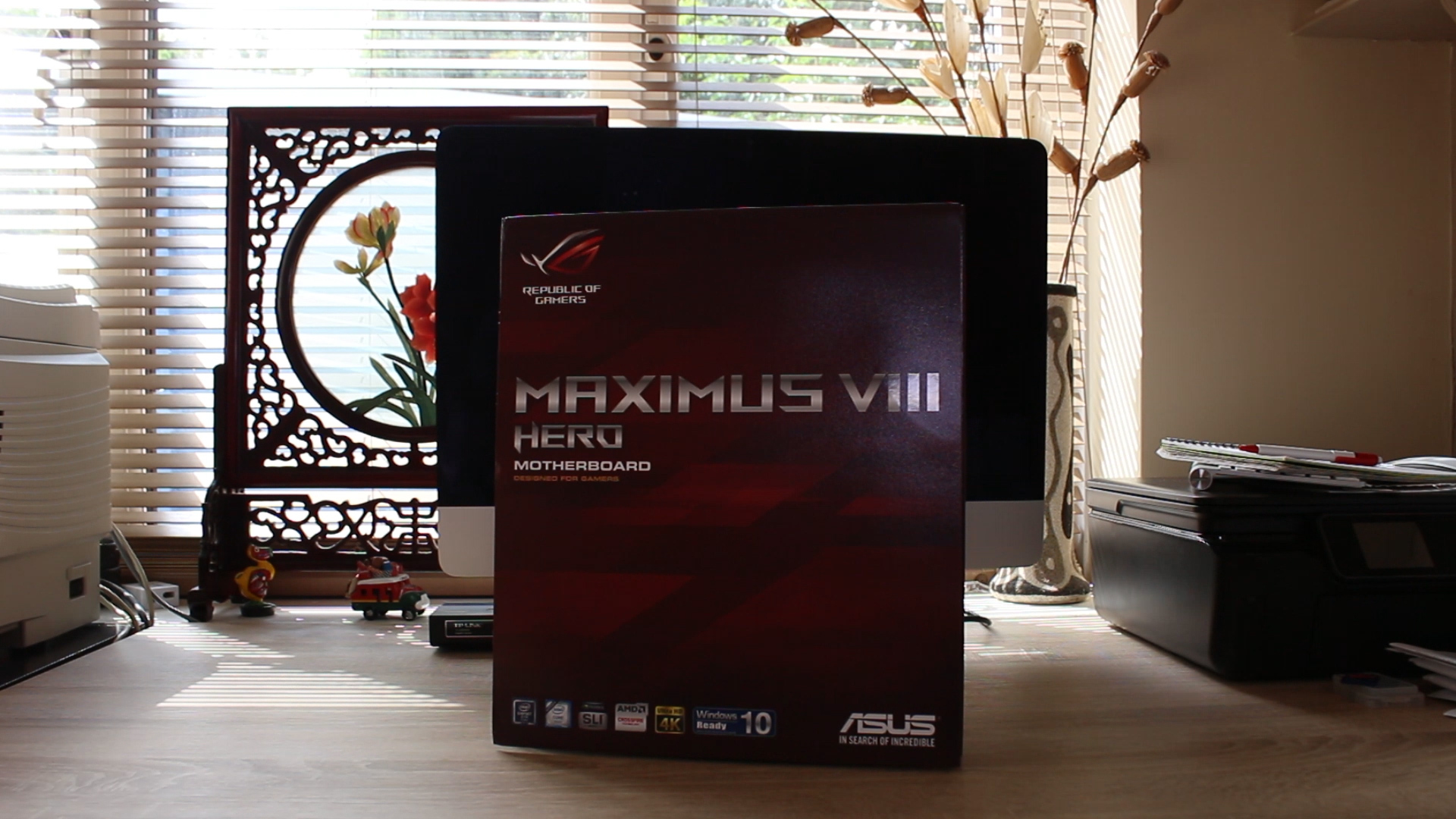 Asus Maximus VIII Hero Z170 Motherboard Review | TechteamGB